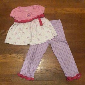 American Girl Pajamas 6/6X L Grande